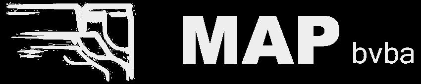 Logo MAP Peer in grijs